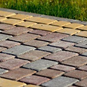 Тротуарная плитка (брусчатка), бордюрный камень